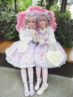 "CoF Thread - ""/cgl/ - Cosplay & EGL"" is imageboard for the discussion of cosplay, elegant gothic lolita (EGL), and anime conventions. Pastel Goth Fashion, Quirky Fashion, Kawaii Fashion, Punk Fashion, Lolita Fashion, Fasion, Fashion Outfits, Alternative Girls, Alternative Fashion"