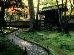 Moss Garden, Saiho-Ji Temple (Kokedera), Kyoto, Japan Photographie