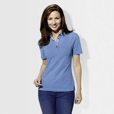 BMW Ladies Classic Polo - Light Blue, X-Large by BMW. $46.00. Classic polo shirts features four-button placket, tailored fit, tonal embroidered BMW wordmark on upper left sleeve. European fit. Imported.Material95% cotton, 5% elastaneColorLight BlueBlackSizesSmallMediumLargeX-Large