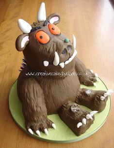 Gruffalo cake by Creative Cakes by Clare, via Flickr