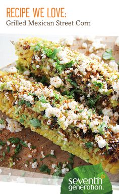 Happy grilling season! Try our lightened-up version of traditional Mexican street corn.