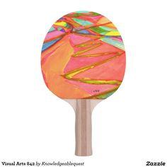 Visual Arts 842 Ping Pong Paddle