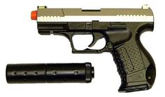 HFC P99 James Bond Dual Tone Spring Airsoft by HFC. $15.99. This well detailed airsoft gun features all design characteristics unique to the real Walther P-99 especially with the slide. Walther has always stylized their slides in all their automatics and this airsoft P-99 carries the tradition with its trapezoidal shape. Among it's other design lines are the lower accessory rail mount, ambidextrous magazine release, and a special contoured and textured grip. Includes...