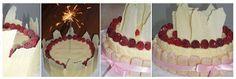 Champagnetaart met witte chocolade en frambozen! - http://www.mytaste.nl/r/champagnetaart-met-witte-chocolade-en-frambozen-1033734.html