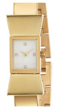Gold bangle watch by Kate Spade.| LBV ♥✤ | KeepSmiling | BeStayElegant | LBV ARCHIVES