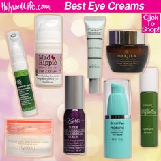 Check out the best eye creams to banish wrinkles and under eye bags! Cream For Dark Spots, Cream For Dry Skin, Skin Cream, Tanning Cream, Best Eye Cream, Love Your Skin, Cream Tops, Moisturizer With Spf, Eye Creams