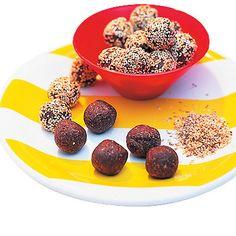 Bild på Chokladbollar med kaffe
