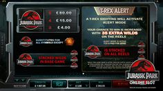 Activate the T-Rex Alert feature and feel, hear and see the mighty T-Rex on your screen of Jurassic Park casino game with Makocasino. Online Casino Games, Jurassic Park, T Rex, Slot