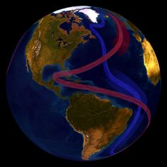 Ocean Circulation (conveyor belts) Dataset | Science On a Sphere