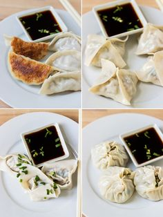 How to Fold and Wrap Dumplings into 4 Different Shapes | www.noshon.it | #diy #dumplings