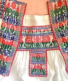 Hilos en nogada, bordado a mano, tradición, artesanía, San Gabriel Chilac, Puebla