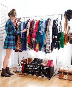 rack para ropa