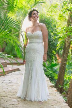 perfect wedding dress for a beach celebration #Style #Wedding #VisitMexico