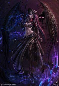 LOL Command Morgana by GothmarySkold