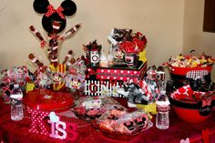 Minnie Mouse Birthday Party Ideas | Photo 20 of 27 | Catch My Party