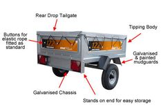 We also sell trailer and a wide variety of accessories.