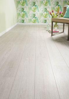 Light Oak Floors, Grey Oak, Bedroom Flooring, Decoration, Tile Floor, House Plans, Sweet Home, How To Plan, Living Room