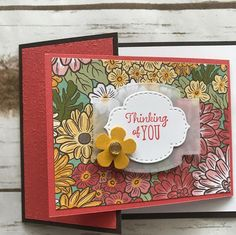 Fancy Fold Cards, Folded Cards, Stampin Up Catalog, Beautiful Handmade Cards, Stamping Up Cards, Fall Cards, Card Sketches, Paper Cards, Creative Cards