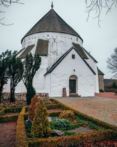 Østerlars is one of four round churches on Bornholm island. It was built long ago in the 1100s used for both worship and protection during the Middle Ages. #denmark #bornholm #churches #historical #culture #travelinspiration #travelphotos #travelblogger