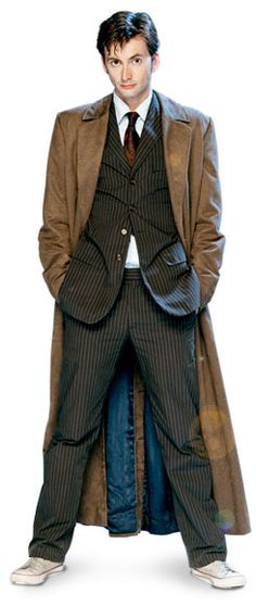 """10th Doctor: David Tennant (2005-2010) Tennant also played the half-human Doctor in """"Journey's End"""" July 5, 2008"""