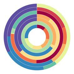 Circular genome visualization and data visualization with Circos