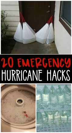 20 Emergency hurricane hacks every family should know! Storm, tornado hacks to stay safe! 20 Emergency hurricane hacks every family should know! Storm, tornado hacks to stay safe! Hurricane Preparedness Kit, Emergency Preparedness Kit, Emergency Preparation, Emergency Supplies, Survival Prepping, Survival Skills, Survival Supplies, Wilderness Survival, Survival Gear