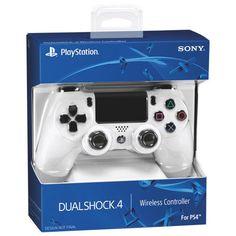 OFFICIAL Sony Dualshock 4 Wireless Controller - White This controller is an official Sony product, brand new in retail packaging. It is a wireless con... #playstation #white #controller #wireless #dualshock #sony
