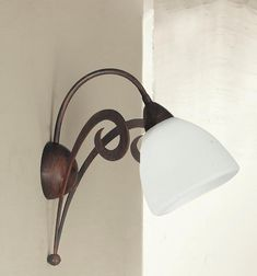 LED antichi area esterna lampada da parete Park VETRO FARETTO Landhaus stile lanterna