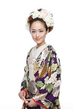 花嫁和装髪型画像カタログ60♡洋髪・和髪・生花・リーゼント・編み込み... | 美人部