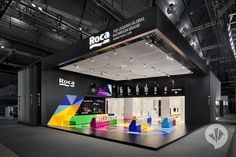 ROCA & dan pearlman: 2013 Showcases the Exhibitor Stand-Triplet | danpearlman