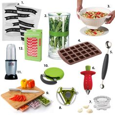 These 12 tools and gadgets will make your life a lot easier while experimenting in the kitchen!