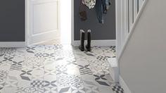 Sol vinyle Texas New Feliz , aspect carreaux de ciment - Saint Maclou