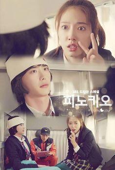 Lee jong suk and Park Shin Hye #Pinocchio 2014 Cr. Logo