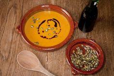 polévka z dýně hokaido