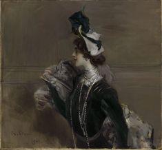 Giovanni Boldini, Portrait of Madame Lina Cavalieri, c. 1901