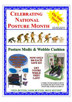 National Months, Circle Of Friends, Improve Posture, Feel Better, You Got This, Improve Yourself, Cushion, Medical, Exercise