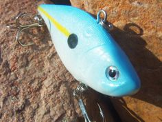 Fishing Lure Silver Auction 0041 Spoonbill Rebel