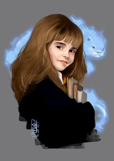 Hermione granger by roshiny's world harry potter anime, harry potter a Harry Potter Tumblr, Fanart Harry Potter, Harry Potter Hermione Granger, Wallpaper Harry Potter, Harry Potter Cartoon, Cute Harry Potter, Mundo Harry Potter, Harry Potter Artwork, Harry Potter Drawings