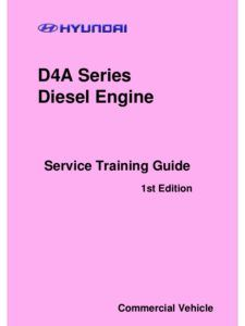 hyundai diesel engine crdi d4fa repair service manual full rh pinterest com Hyundai Accent 2008 Hyundai IMAX