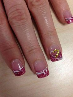 Classy Valentines Day Nails Ideas 42