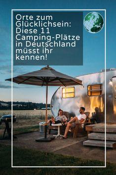 Egal, ob mit dem Zelt, dem Wohnwagen oder im Luxuswohnmobil - Campen liegt im Trend. Um diese Urlaubsform in vollen Zügen zu genießen, muss man nichtsonst wohin fahren. Wir stellen elf Campingplätze in Deutschland vor -  von der Nord- und Ostsee über die Lüneburger Heide bis hinunter ins  tiefste Bayern. #focusonline #Camping #Deutschland #glücklich #kennen #Campingplatz #wohnmobil Camping Tours, Van Camping, Camping And Hiking, Family Camping, Camping Hacks, Backpacking Boots, Trailers Camping, Bus Camper, Germany Travel