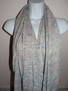 NWT Women's Aeropostale Gray/Multi Poly/Rayon Infinity Scarf Msrp $29.50 SALE #TommyHilfiger #CowlInfinity