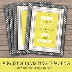 August 2016 Visiting Teaching Handout