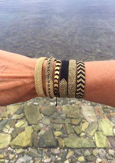 High Quality Bracelets and more by GiotaRammouJewelry Thread Bracelets, Macrame Bracelets, Handmade Bracelets, Handmade Jewelry, Macrame Knots, Loom Bracelets, Gemstone Bracelets, Friendship Bracelets Tutorial, Diy Friendship Bracelets Patterns