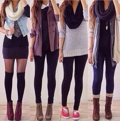 cute and casual fall outfits :) <3