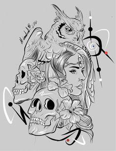 Disegno digitale 📲#digitaldraw #draw #drawing #drawings #artoftheday #flash #artlovers #flowerdraw #profil #female #femaleart #coloring #colour #sketch #sketching #sketchbook #woman #art #picoofday #womanart  #B&W #flashtattoo #artistic #gufo #owlflash   #flowerflash  #tattoogirl  #skullflash #pencil #sketchs