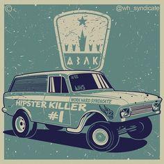 Gasser Wagon-hipster killer