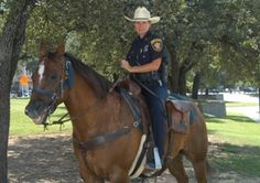 Fort Worth Police Department Mounted Patrol