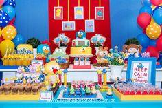 mesa de postres cumple gallina pintadita (14) | Curso de organizacion de hogar aprenda a ser organizado en poco tiempo