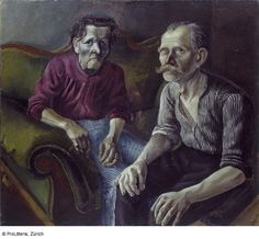 otto dix(1891–1969), portrait of the artist's parents i, 1921. oil on canvas, 101.1 x 114.8 cm. kunstmuseum basel, switerland http://sammlungonline.kunstmuseumbasel.ch/eMuseumPlus?service=direct/1/ResultDetailView/result.inline.list.t1.collection_list.$TspTitleImageLink.link&sp=13&sp=Sartist&sp=SfilterDefinition&sp=0&sp=1&sp=1&sp=SdetailView&sp=42&sp=Sdetail&sp=0&sp=T&sp=0&sp=SdetailList&sp=0&sp=F&sp=Scollection&sp=l1626